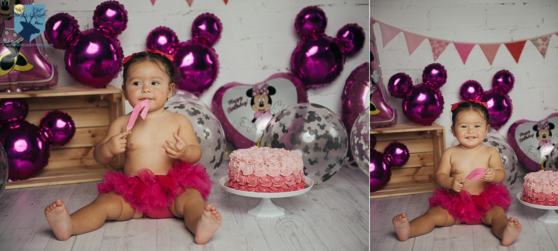 fotografia, fotos, girona, figueres, emporda, monica quintana, bebes, niños, familia, retrato, cumpleaños, un año, smash the cake