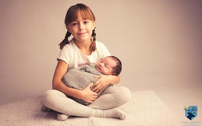 Aritz, fotos de recién nacido en Figueres (Girona)