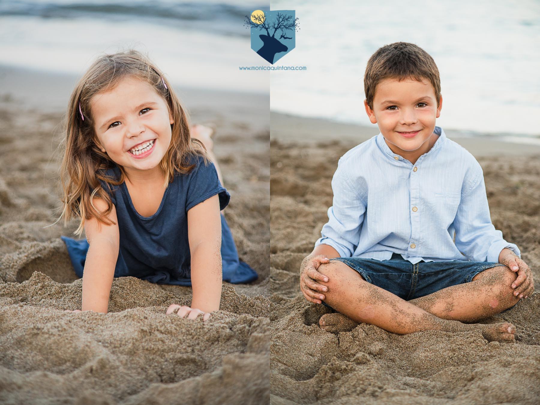 fotografia, fotos, girona, figueres, emporda, monica quintana, niños, familia, retrato, hermanos, naturaleza, exterior, playa, escala,