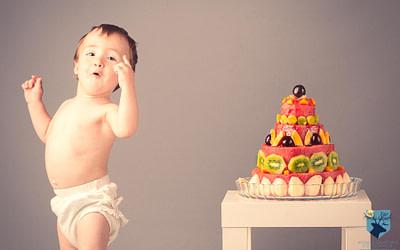 Smash the cake de fruta y sano
