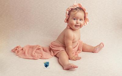 Fotos de bebé 8 meses en Girona