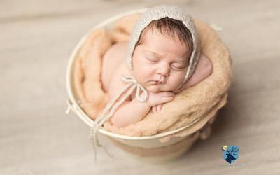 Sesión de fotos de recién nacida en Girona