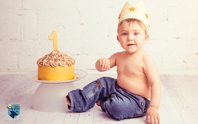Smash the cake con Olau