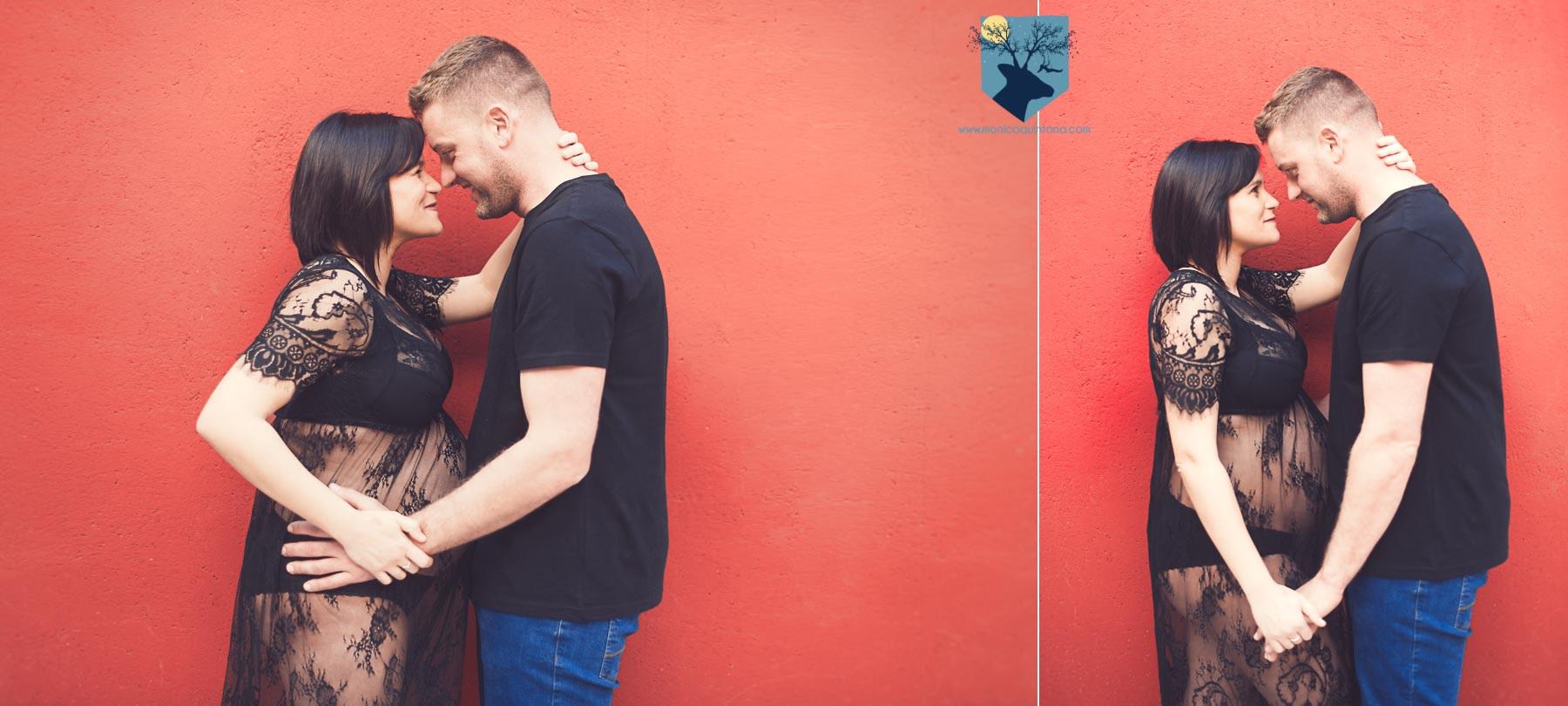 fotografia-girona-figueres emporda monica quintana familia retrato embarazo embarazada pareja amor estudio