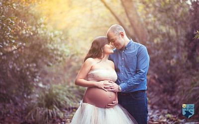 Fotos de embarazo en invierno